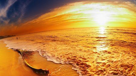 coast, sea, decline