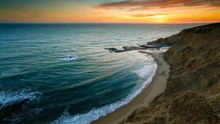 coast, sea, height
