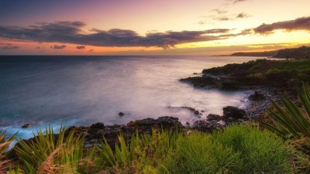 coast, sea, horizon