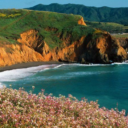 coast, sea, sun