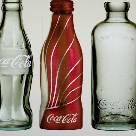 coca-cola, bottles, trademark