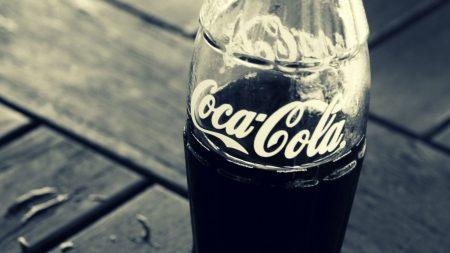 coca-cola, drink, bottle