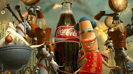 coca-cola, drink, brand