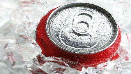 coca-cola, drink, ice