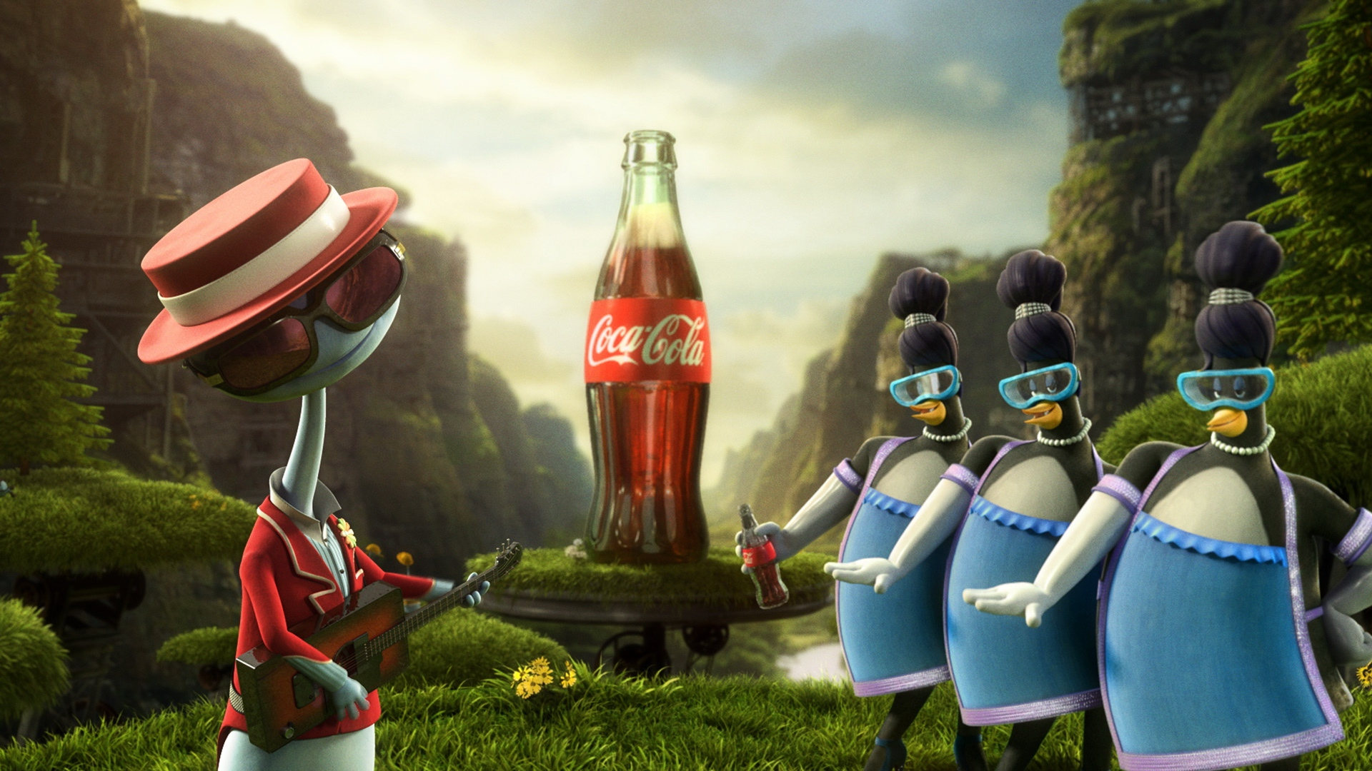 Earnings Disclaimer >> Download Wallpaper 1920x1080 coca-cola, images, drink ...