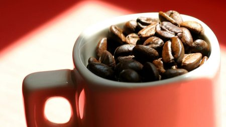 coffee beans, cup, coffee