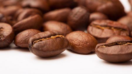 coffee, coffee beans, surface