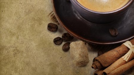 coffee, cup, grains