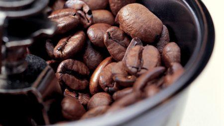 coffee, grinder, grain