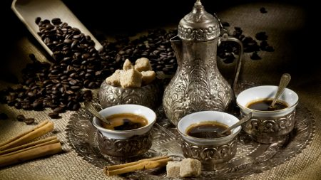 coffee, tea, cups