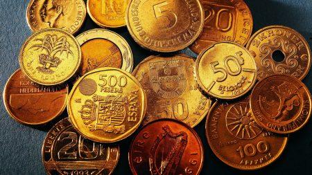 coins, different, denomination