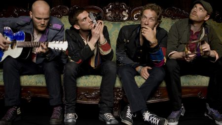 coldplay, sofa, instruments