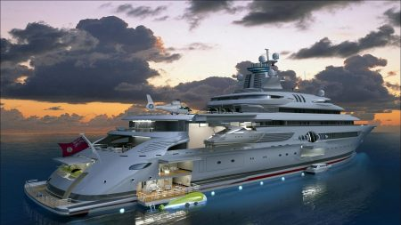 concept, yachts, sea