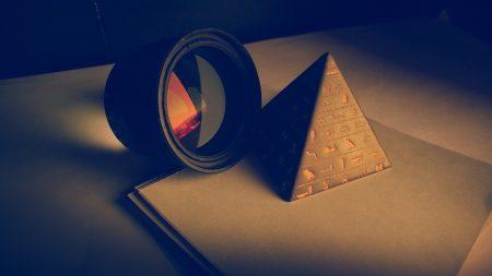 cone, flash, lens