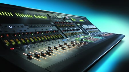 console, mixer, soundcraft si3