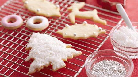cookies, fir-tree, figures