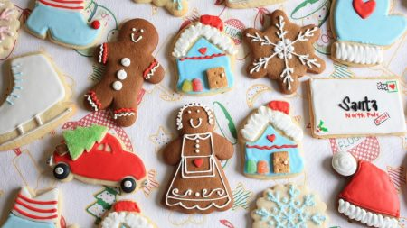 cookies, new year, christmas
