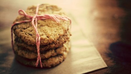 cookies, oat, batch