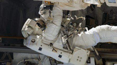 cosmonaut, survival suit, ship
