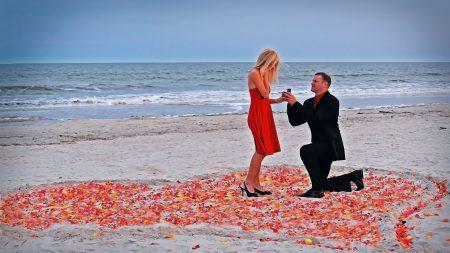 couple, love, proposal