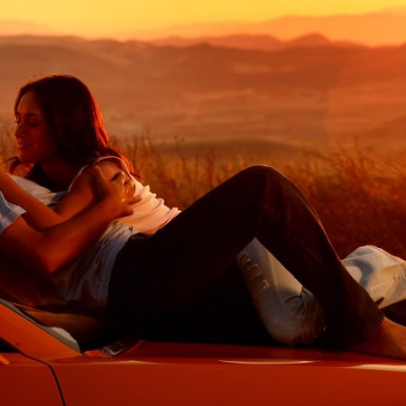 couple, romance, car