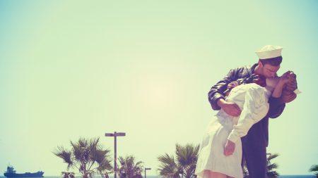 couple, sailor, boy