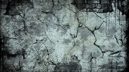 cracks, brick, texture
