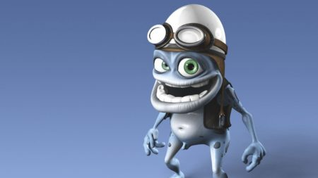 crazy frog, image, cap