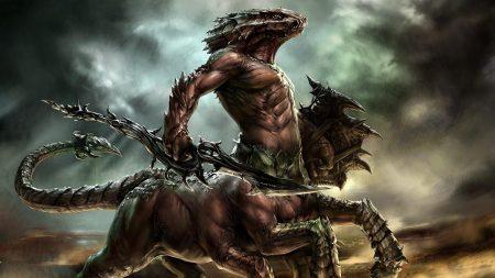 creature, weapon, darkness