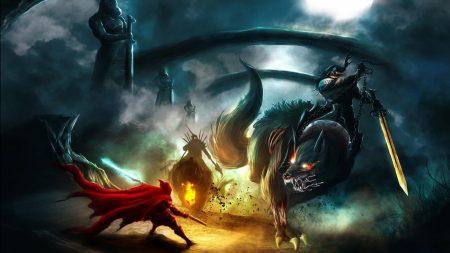 creatures, monsters, battle