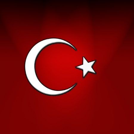 crescent moon, muslims, flag