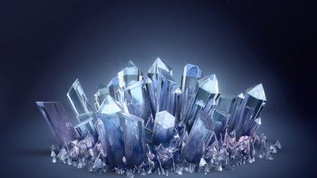 crystal, glass, light