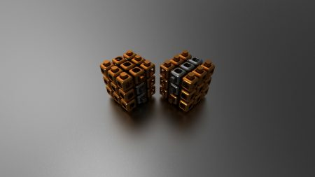 cube, couple, shape