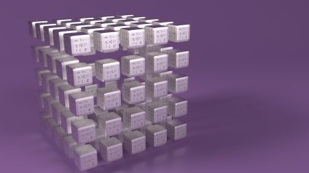 cube, size, surface