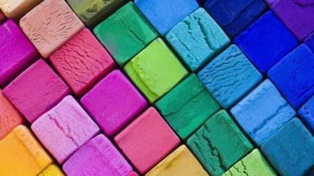 cubes, colorful, background