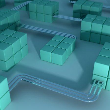 cubes, compound, cables