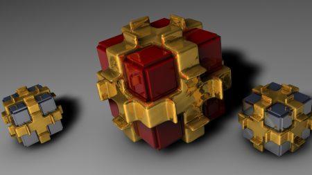 cubes, form, light