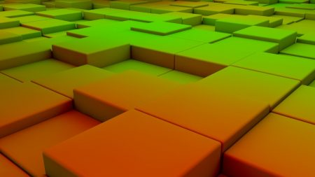cubes, space, background