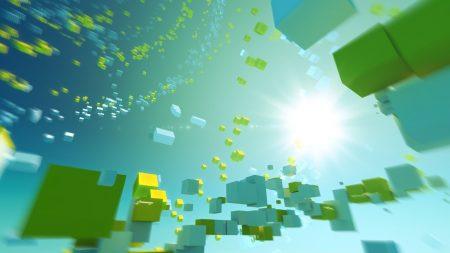 cubic, flight, light