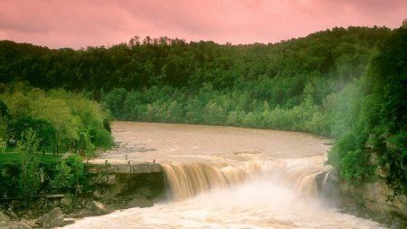 cumberland falls, kentucky, water