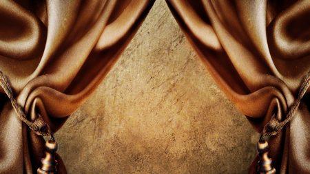 curtains, silk, enhancement