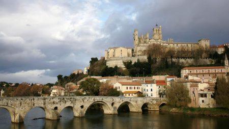 czech republic, river, bridge