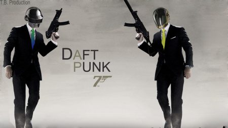 daft punk, bond, 007
