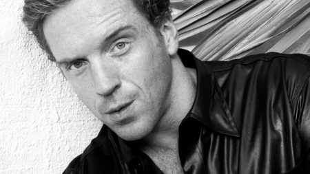 damian lewis, face, freckles