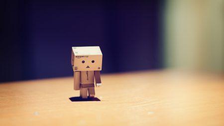 danboard, robot, sad