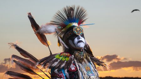 dancer, the freedom of flight, northwest territories
