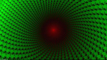 dark, green, red