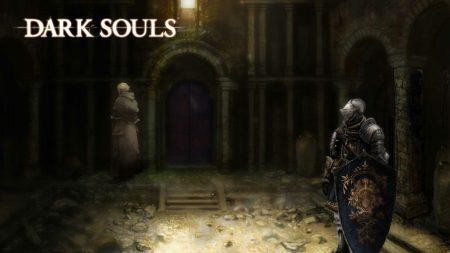 dark souls, knight, shield