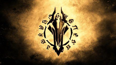 darksiders, emblem, background