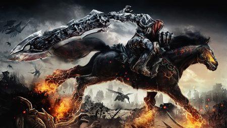 darksiders, war, horse
